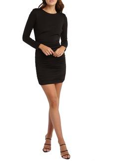 Bardot Elena Long Sleeve Body-Con Dress