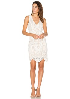 Bardot Embroidered Lace Dress in White. - size Aus 10 / US S (also in Aus 8 / US XS, Aus 12 / US M,Aus 14 / US L)