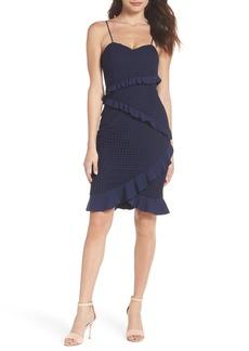 Bardot Fae Ruffle & Lace Dress