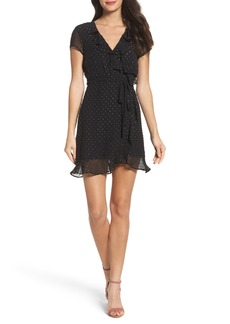 Bardot Faux Wrap Minidress