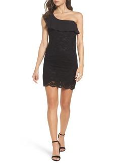 Bardot Fiorella One-Shoulder Lace Body-Con Dress