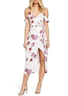 Bardot Floral Midi Dress