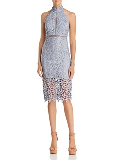 Bardot Gemma Lace Halter Dress