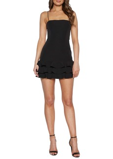 Bardot Gianna Sleeveless Ruffle Minidress