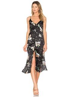 Bardot Hibiscus Slip Dress in Black. - size Aus 10 / US S (also in Aus 8 / US XS, Aus 12 / US M,Aus 14 / US L)