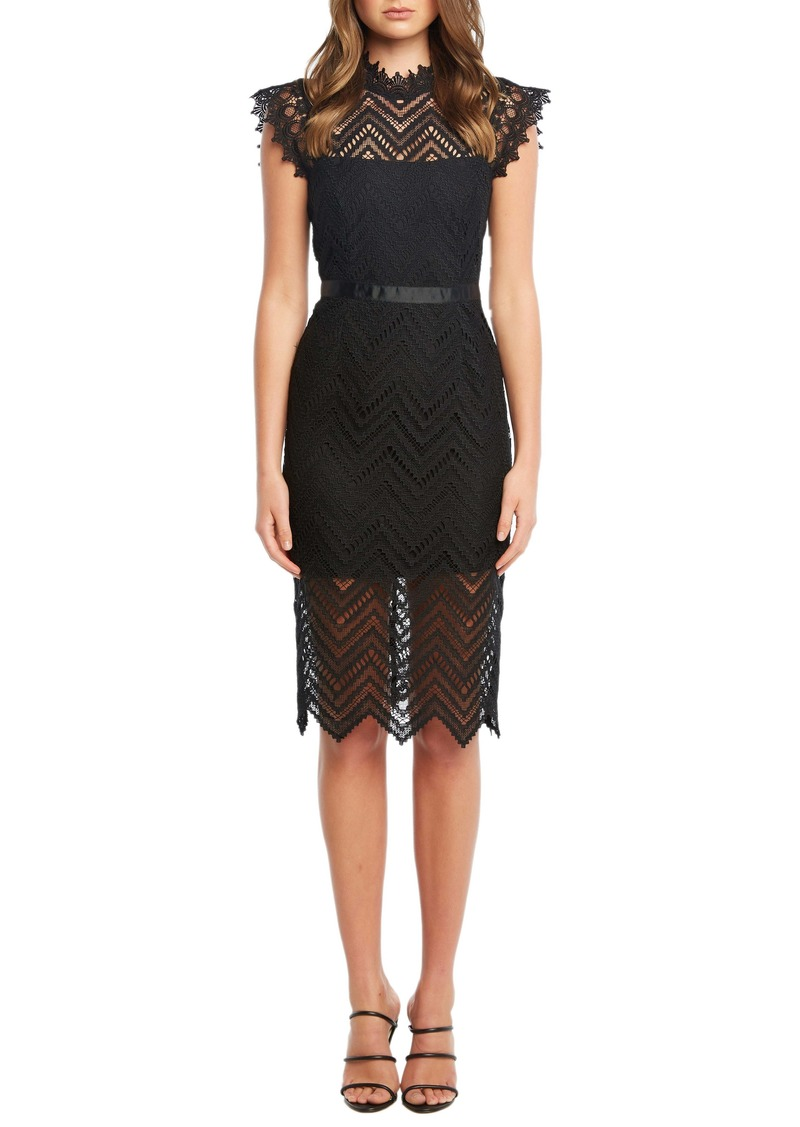 Bardot Imogen Lace Sheath