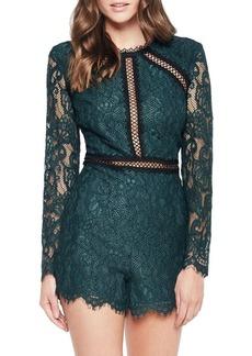 Bardot Iris Lace Playsuit