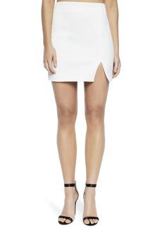 Bardot Jacquard Miniskirt