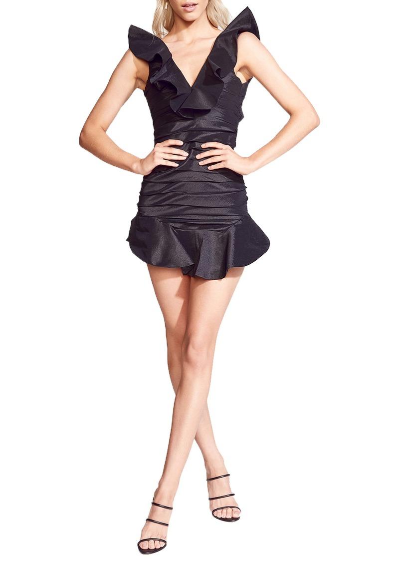 Bardot Jamie Frill Minidress