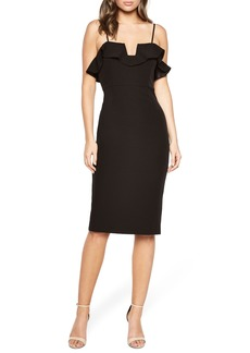 Bardot Karen Ruffled Sheath Dress