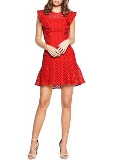Bardot Kira Crochet Ruffle Dress