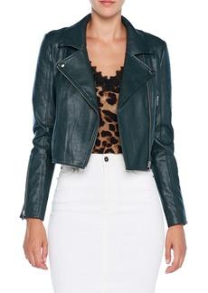 Bardot Kora Faux Leather Moto Jacket