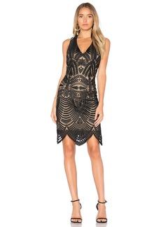 Bardot Lace Embroidered Dress