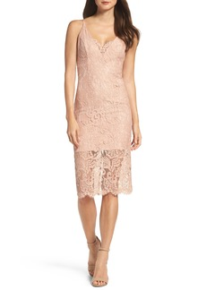Bardot Lace Pencil Dress