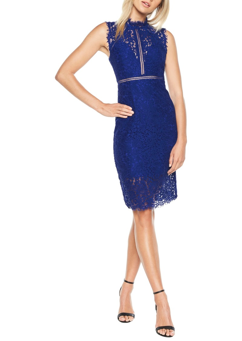 Bardot Bardot Lace Sheath Dress Dresses