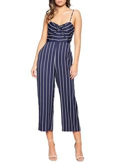 Bardot Layla Stripe Crop Jumpsuit