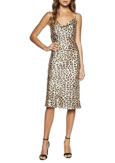 Bardot Leopard Slip Dress