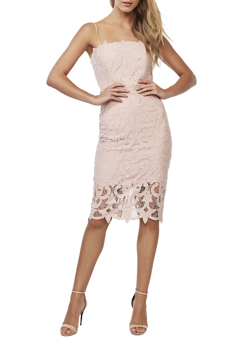 Bardot Lina Lace Cocktail Dress