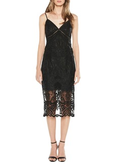 Bardot Lola Embroidered Lace Slipdress