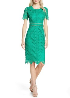 Bardot Loren Lace Sheath Dress