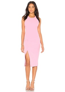 Low Back Dress in Pink. - size Aus 10 / US S (also in Aus 12 / US M,Aus 14 / US L,Aus 8 / US XS) Bardot