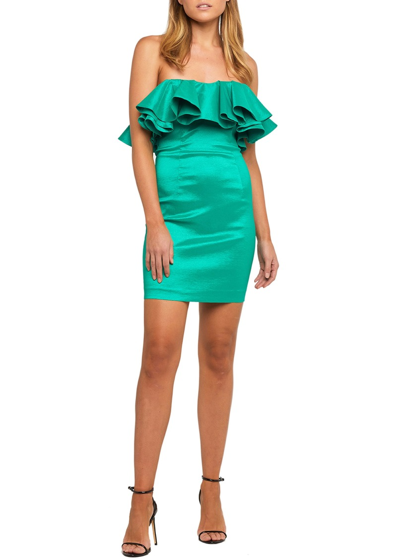 Bardot Lulu Strapless Minidress