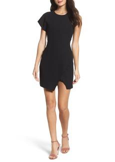 Bardot Maxwell Asymmetric Faux Wrap Dress