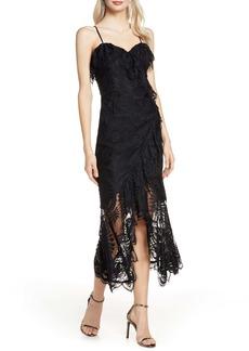 Bardot Melinda Sleeveless Lace Midi Dress