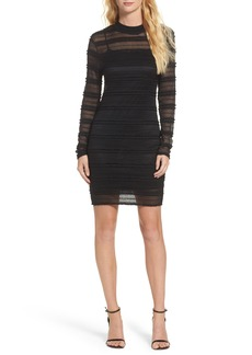 Bardot Mia Mesh Knit Body-Con Dress