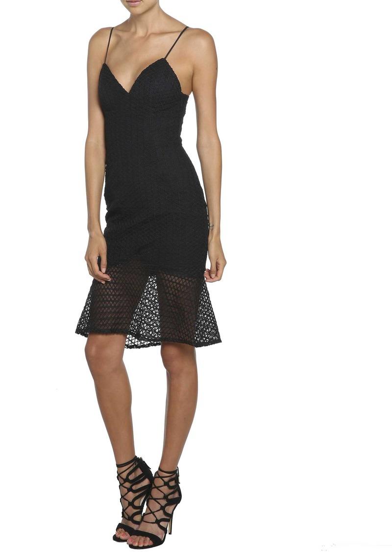 Bardot Neptune Fishtail Hem Lace Body-Con Dress