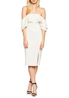 Bardot Off-the-Shoulder Band Dress