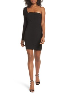 Bardot One-Shoulder Body-Con Dress