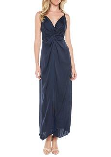 Bardot Ora Twist Front Gown