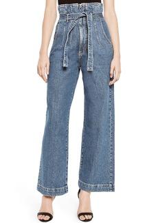 Bardot Paperbag Wide Leg Jeans (Vintage)