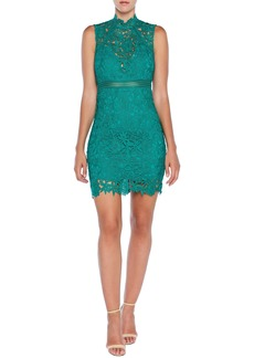 Bardot Paris Lace Body-Con Cocktail Dress