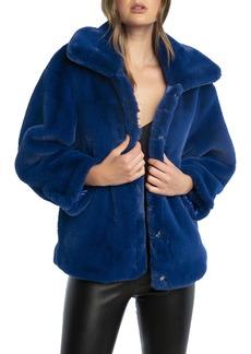 Bardot Pia Faux Fur Jacket