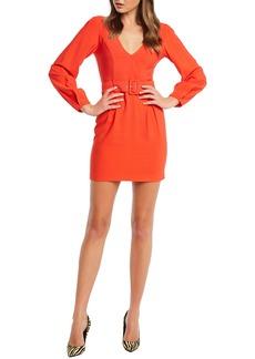 Bardot Power Long Sleeve Minidress