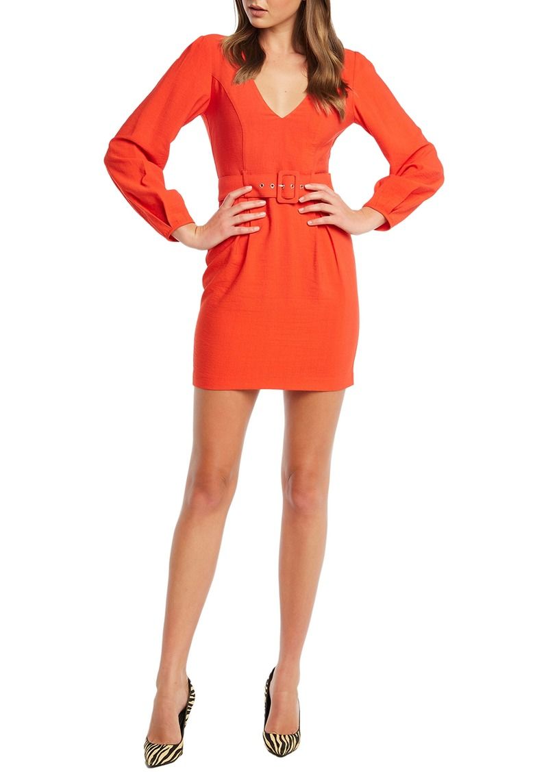 Bardot Power Long Sleeve Minidress