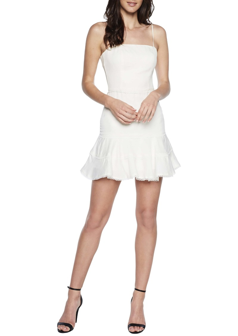 Bardot Priano Trim Sleeveless Minidress