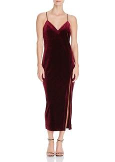 Bardot Raven Velvet Cami Dress