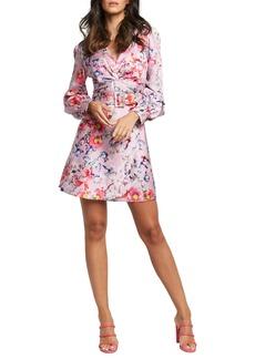 Bardot Rowina Floral Print Minidress