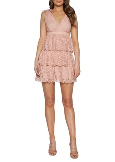 Bardot Roxie Lace Cotton Blend Dress