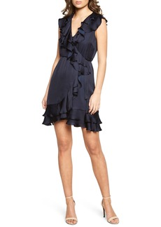Bardot Ruffle Faux Wrap Dress