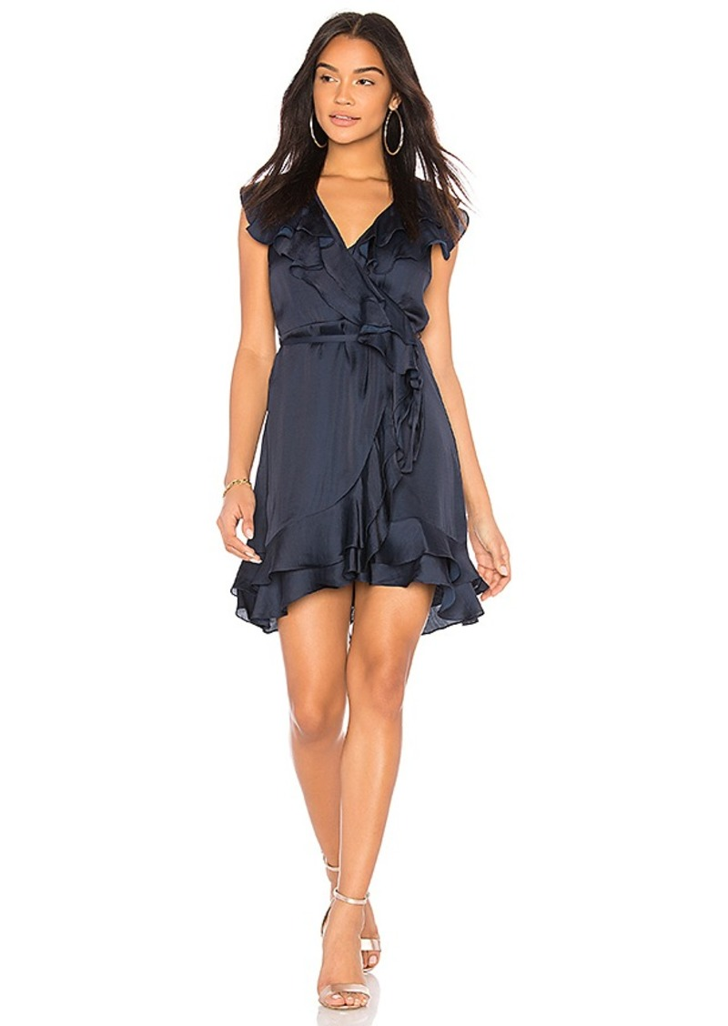Cheap Sale 100% Authentic Footlocker Finishline Cheap Price Ruffle Mini Dress in Blue. - size Aus 10 / US S (also in Aus 8 / US XS) Bardot Shop Online tbREn3Bd