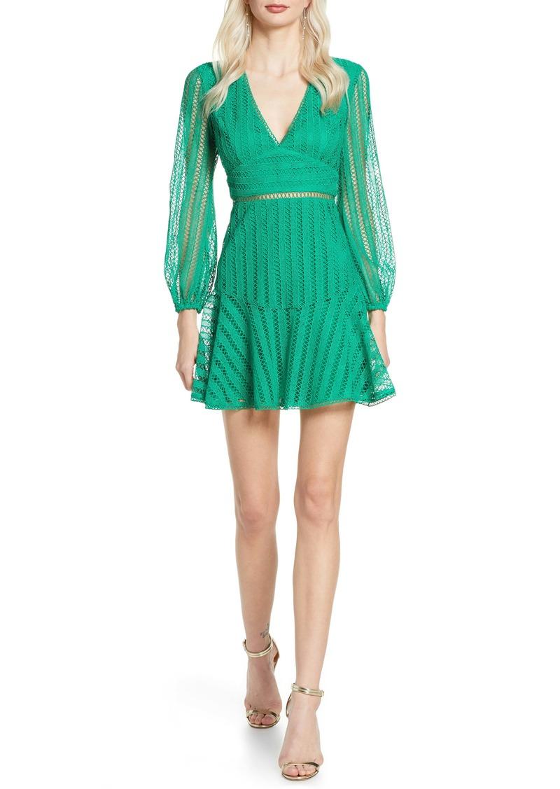 Bardot Ruth Long Sleeve Minidress