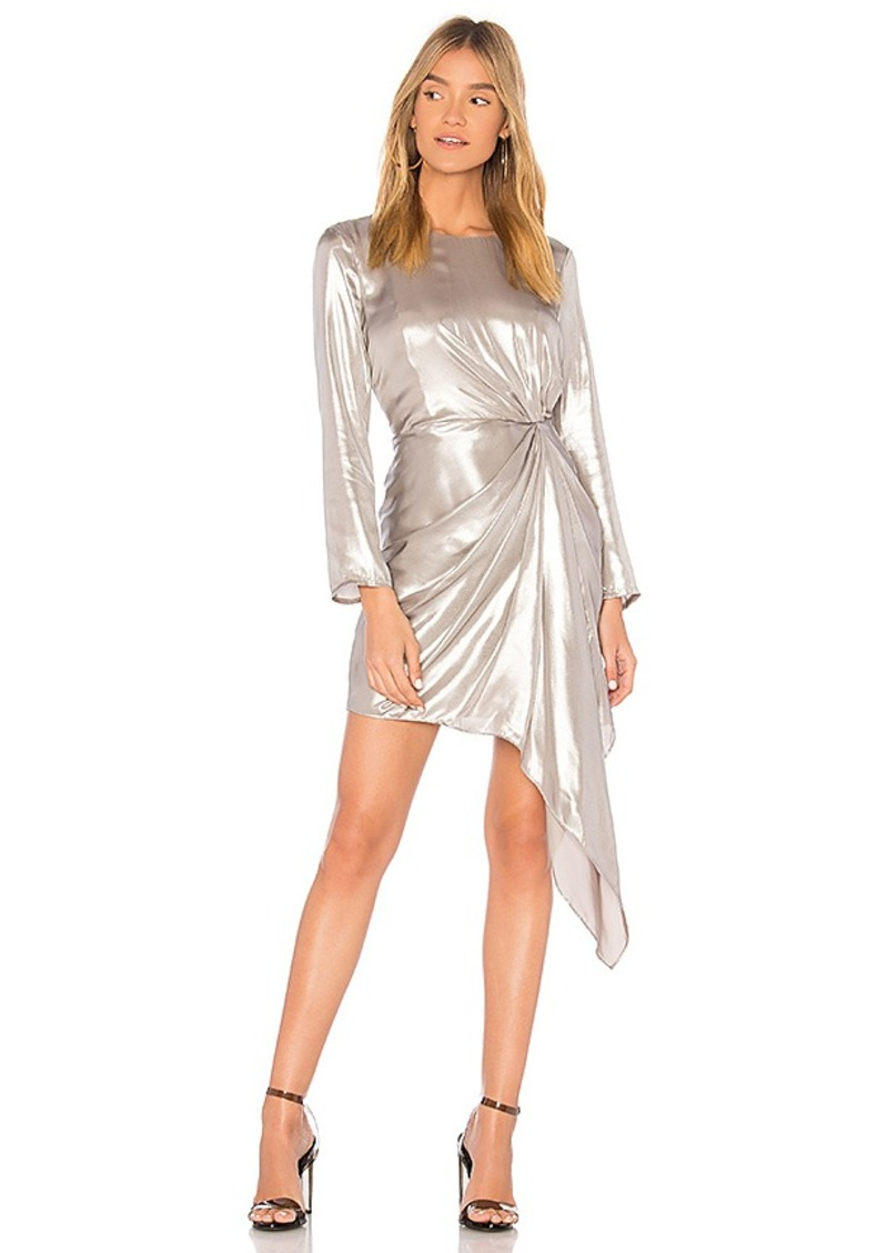 Sequined Dress in Metallic Silver. - size Aus 10 / US S (also in Aus 12 / US M,Aus 8 / US XS) Bardot