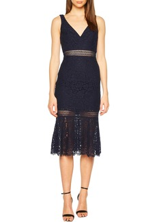 Bardot Sienna Lace Trumpet Dress (Nordstrom Exclusive)