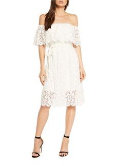 BARDOT Sienna Off-the-Shoulder Dress