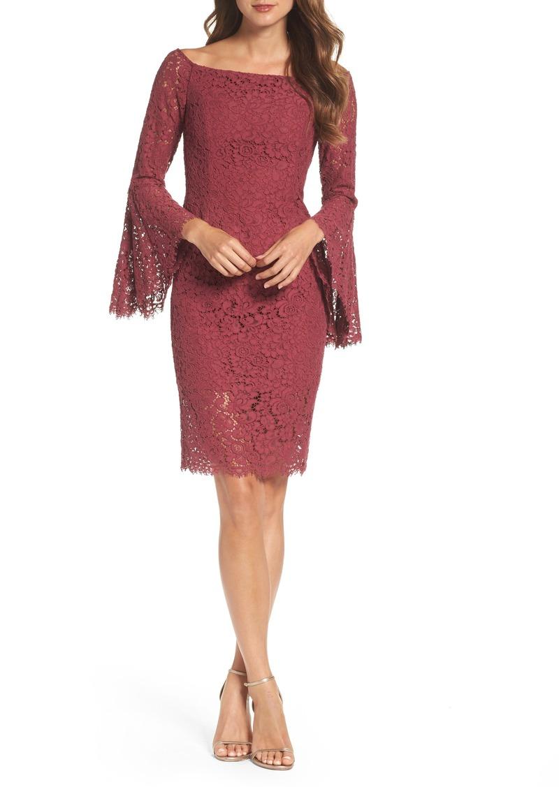 96ad26aa Bardot Bardot Solange Corded Lace Sheath Dress