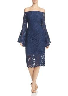 Bardot Solange Off-the-Shoulder Lace Dress